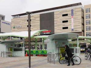 八王子駅南口地下タワー式自転車駐車場